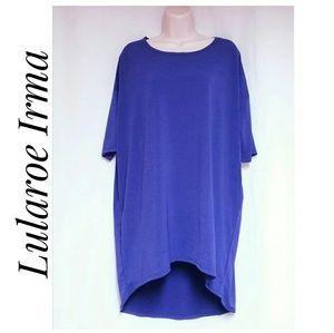 Lularoe NWT'S Irma Tunic Top Purple Size Medium